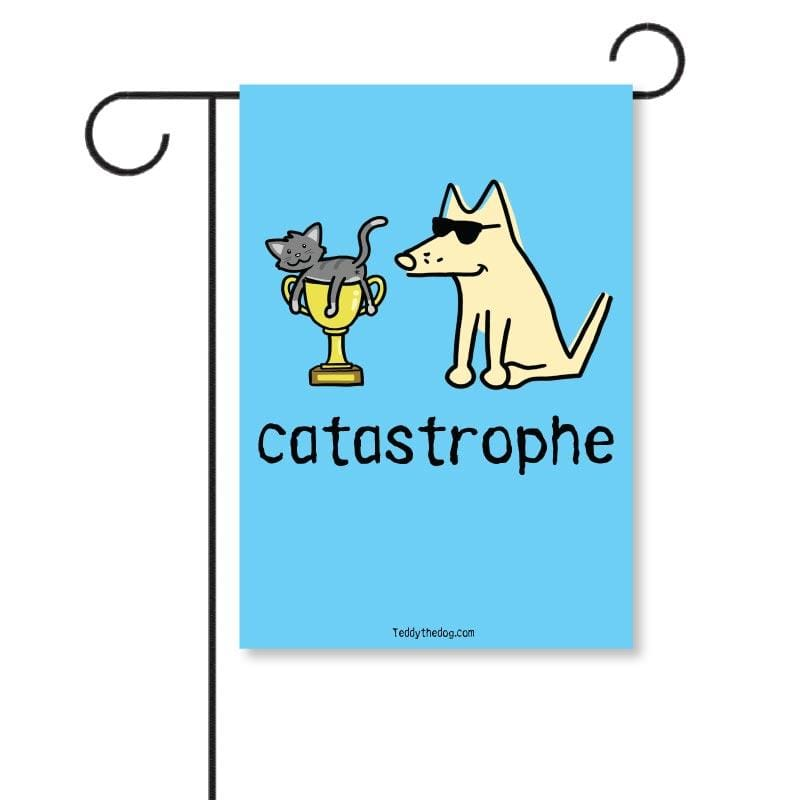 Catastrophe - Garden Flag