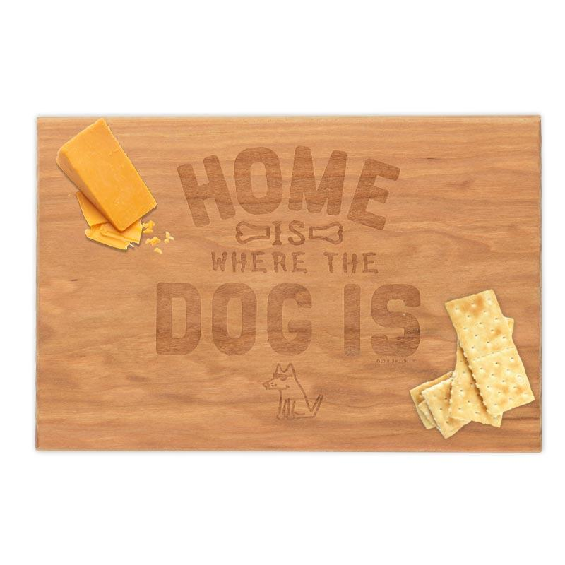 Home Is Where The Dog Is - Artisan Cheese Board