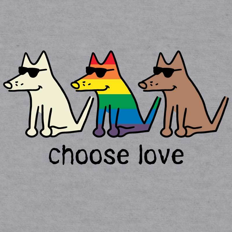 Choose Love - Baseball T-Shirt