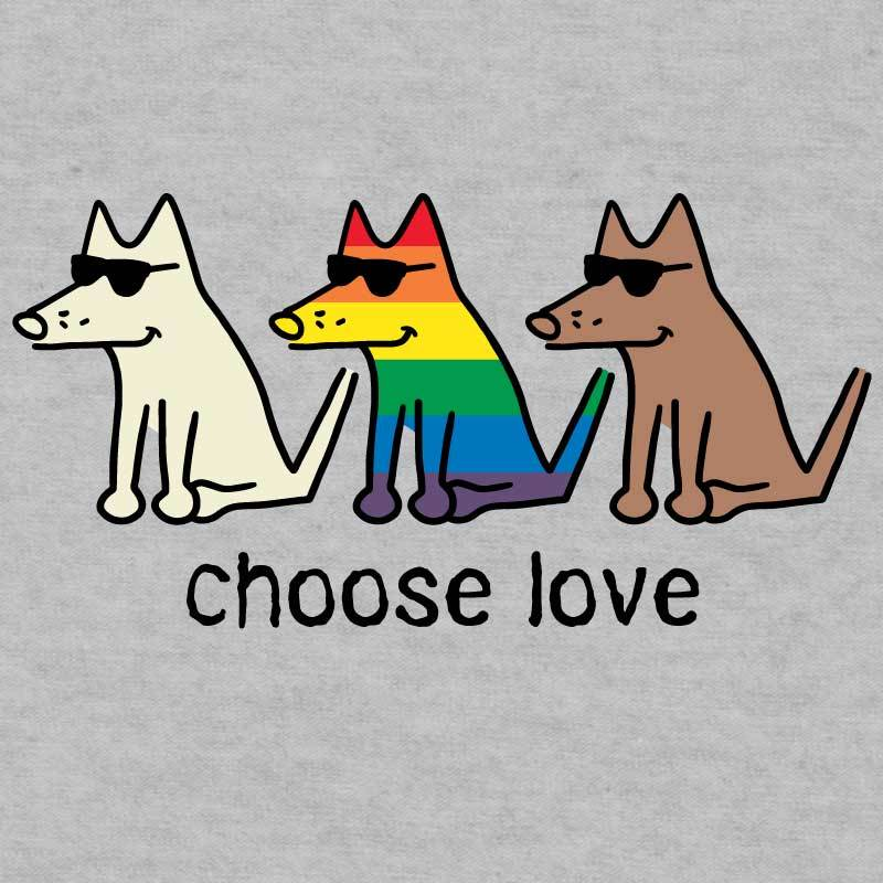 Choose Love - Lightweight Tee