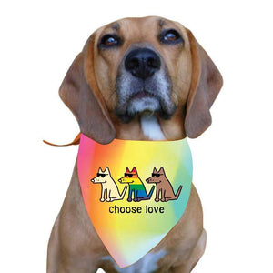 Choose Love - Doggie Bandana