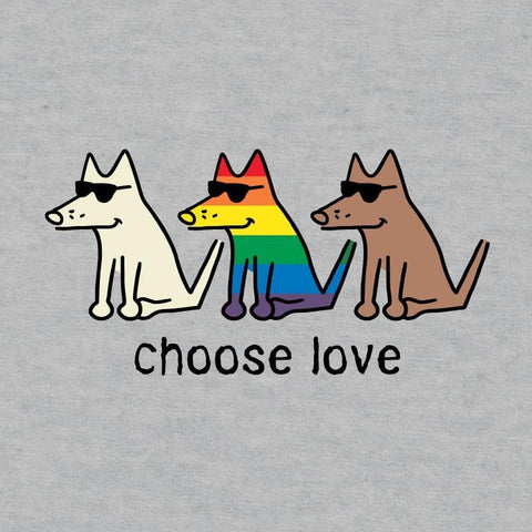 Choose Love - Onesie Infant - Teddy the Dog T-Shirts and Gifts
