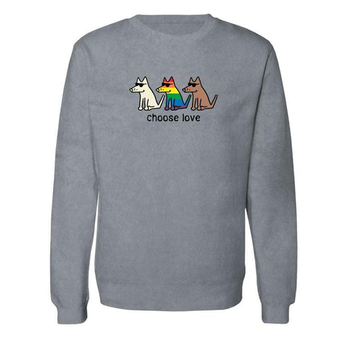 Choose Love - Crew Neck Sweatshirt