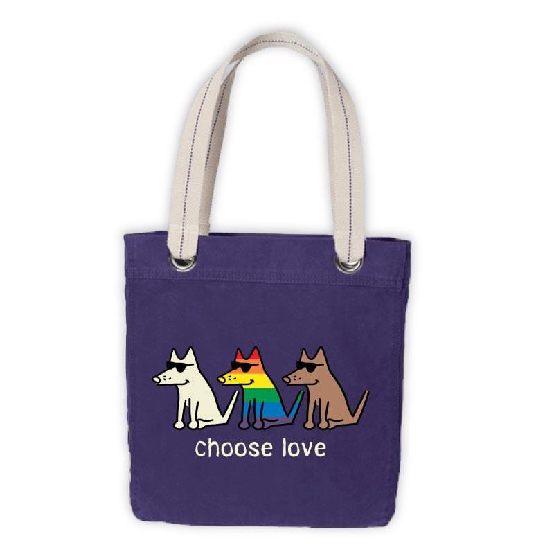 Choose Love - Canvas Tote