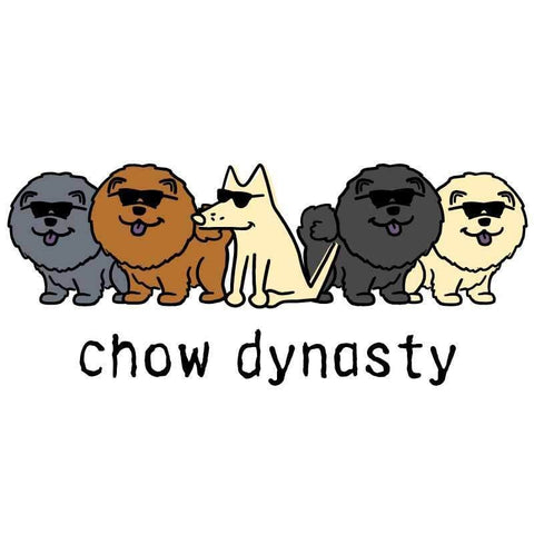 Chow Dynasty - Coffee Mug - Teddy the Dog T-Shirts and Gifts
