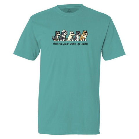 This Is Your Wake Up Collie Classic Tee
