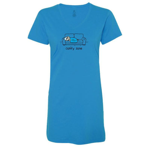 comfy zone night t-shirt