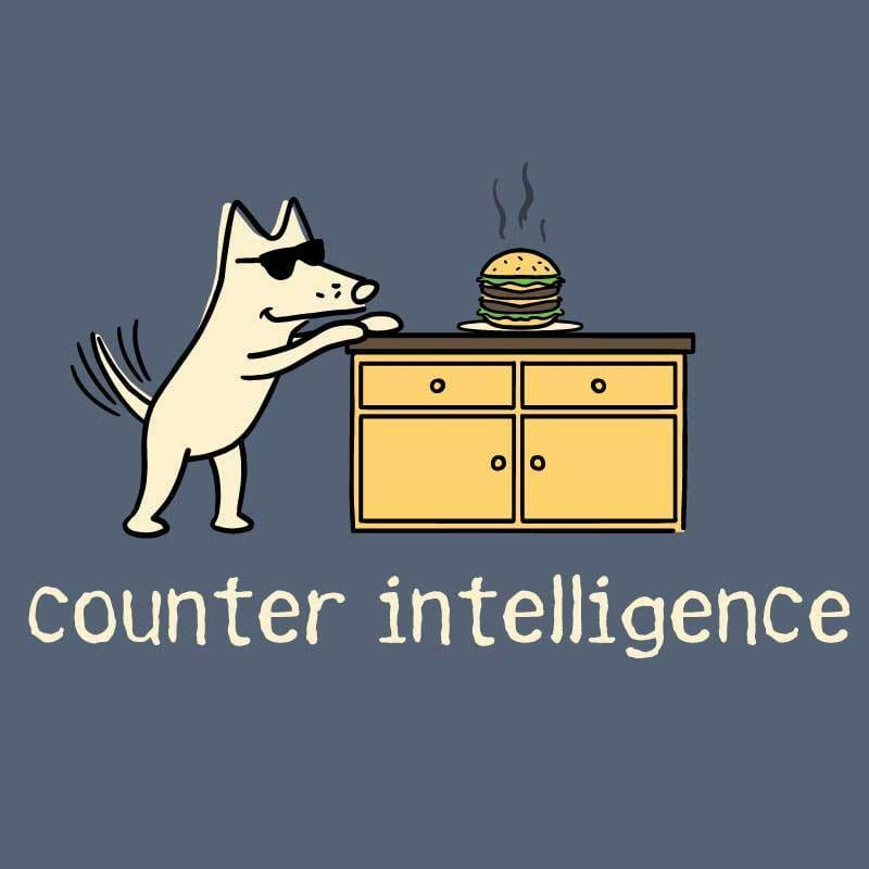 Counter Intelligence - Classic Tee - Teddy the Dog T-Shirts and Gifts