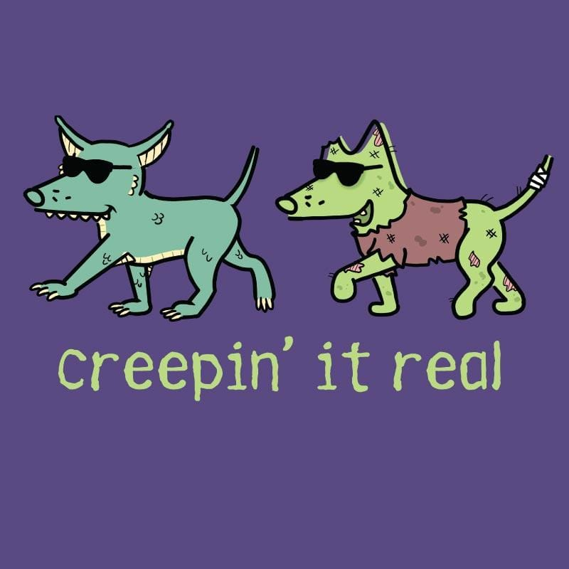 Creepin' It Real - Ladies T-Shirt V-Neck