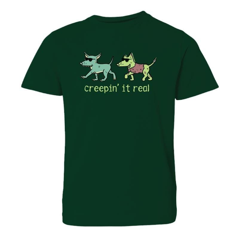 Creepin' It Real - Youth Short Sleeve T-Shirt