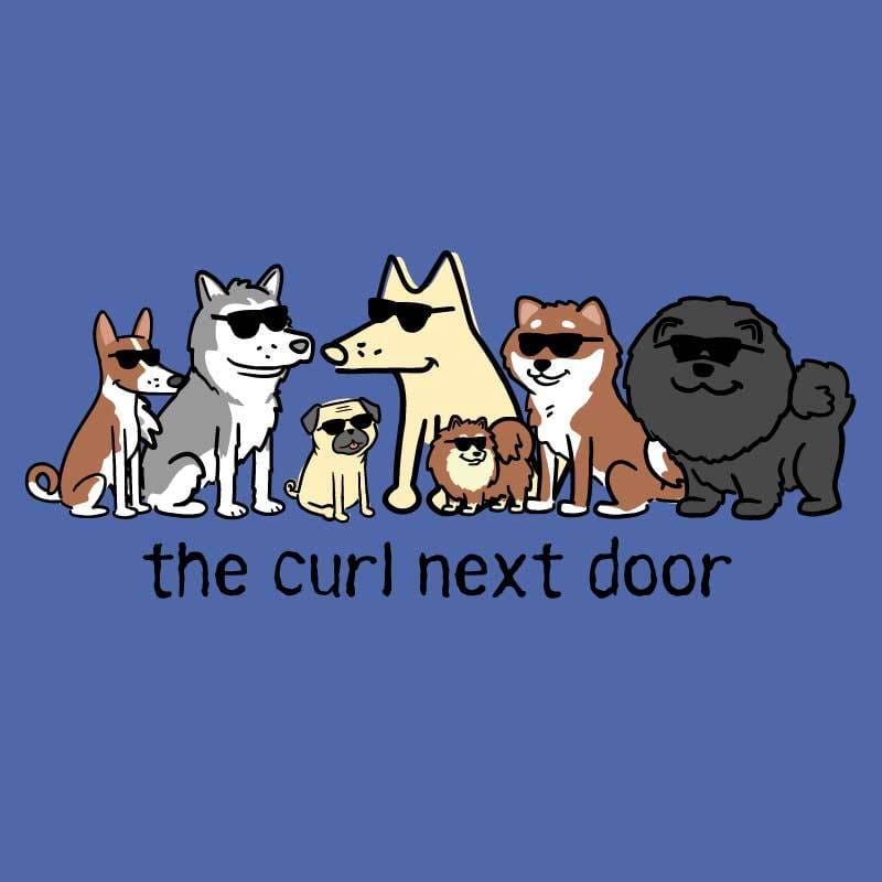 The Curl Next Door - Classic Tee