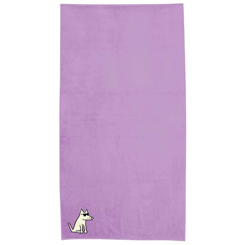 Lavander Plush Oversized Beach Towel