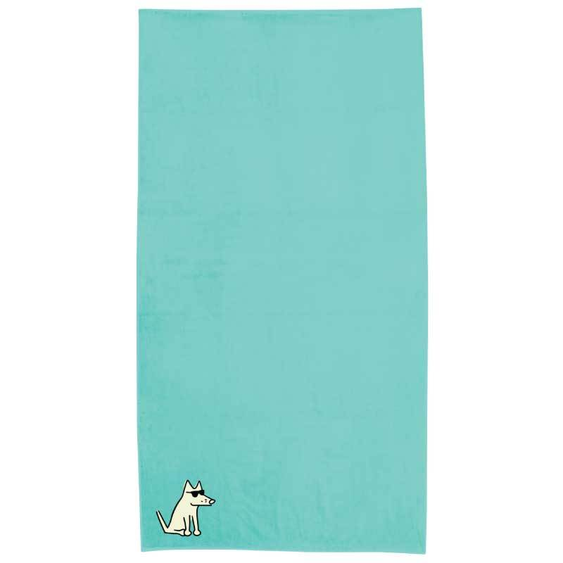 Mint Plush Oversized Beach Towel