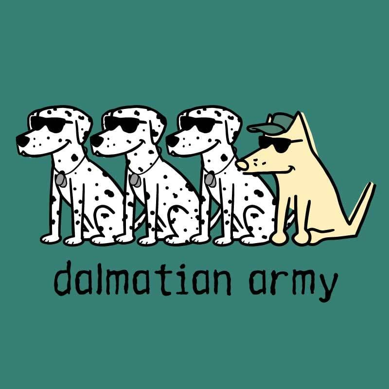Dalmatian Army - Ladies T-Shirt 3-4 Sleeve
