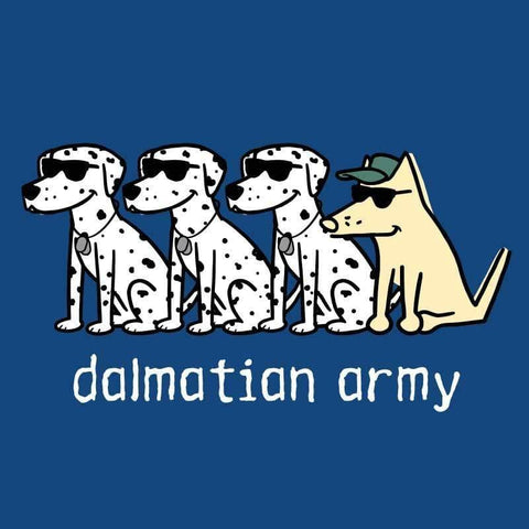 Dalmatian Army - Ladies T-Shirt V-Neck