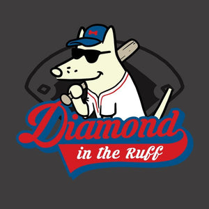 Diamond in the Ruff - Classic Tee - Teddy the Dog T-Shirts and Gifts