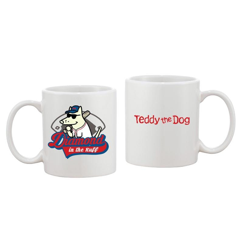 Diamond in the Ruff - Coffee Mug - Teddy the Dog T-Shirts and Gifts