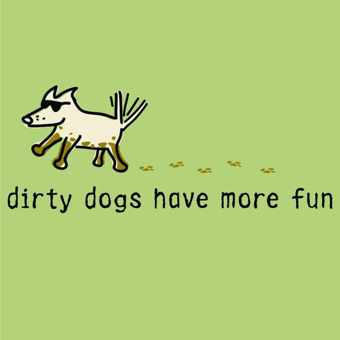 dirty dogs have more fun youth t-shirt
