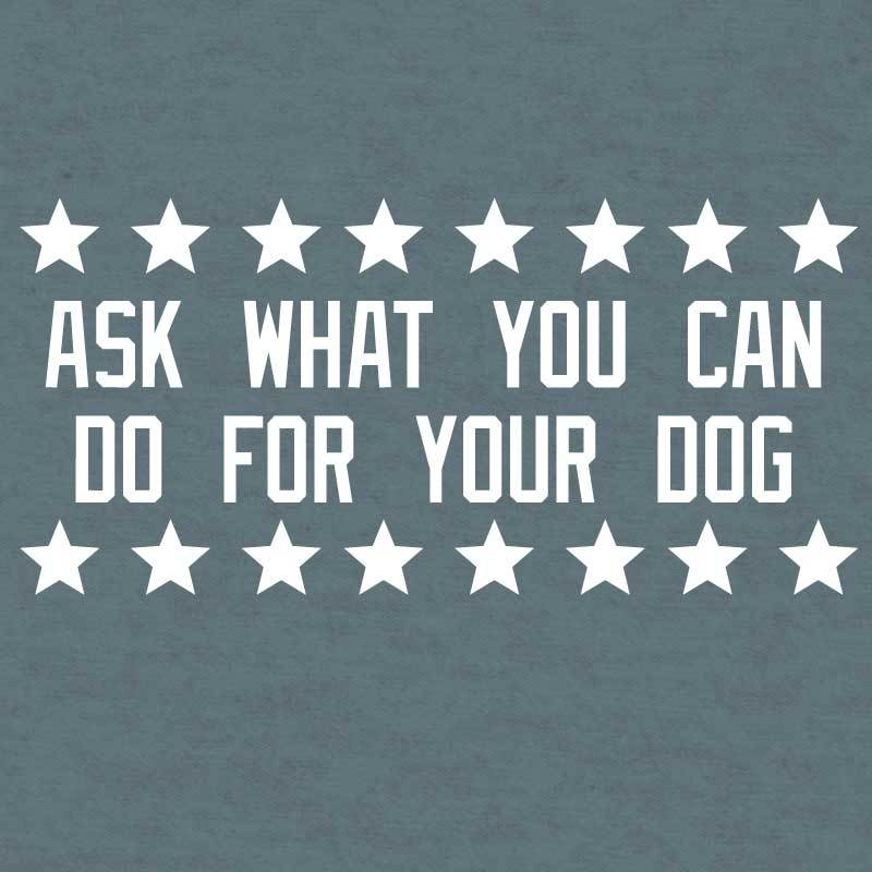 Ask Not What Your Dog Can Do For You  - Lightweight Tee
