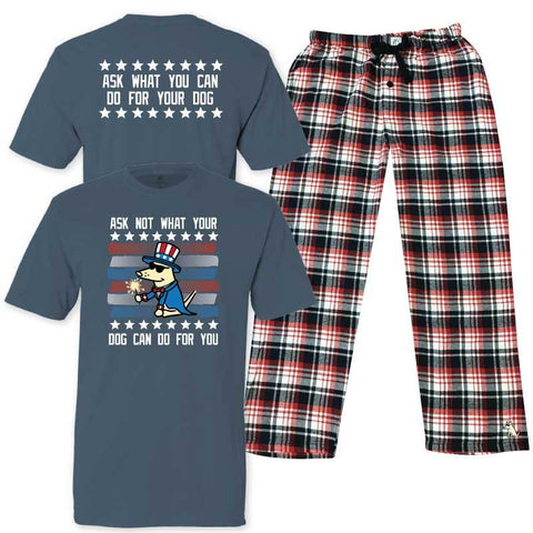 Ask Not What Your Dog Can Do For You - Pajama Set