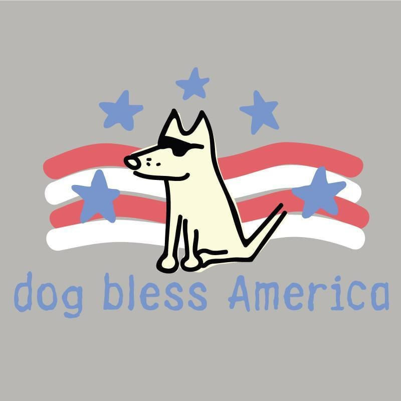 Dog Bless America T-Shirt - Kids - Teddy the Dog T-Shirts and Gifts