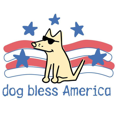 Dog Bless America - Coffee Mug