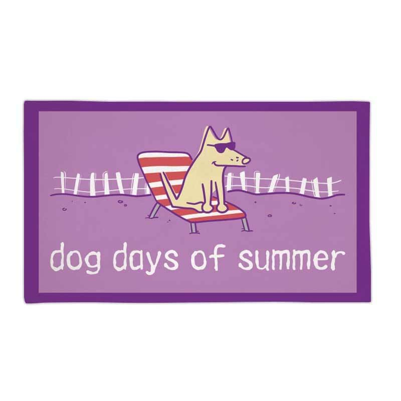 Dog Days Of Summer - Beach Towel