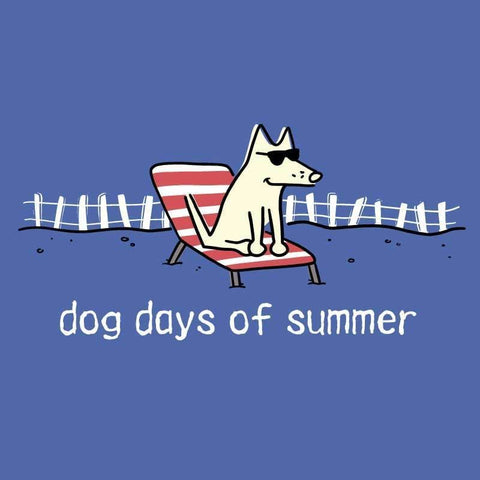 Dog Days of Summer - Classic Tee - Teddy the Dog T-Shirts and Gifts