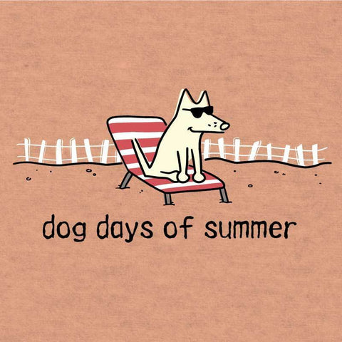 Dog Days Of Summer - Lightweight Tee - Teddy the Dog T-Shirts and Gifts
