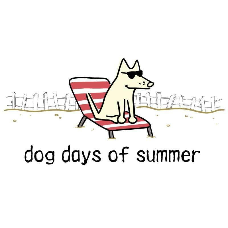 Dog Days of Summer - Coffee Mug - Teddy the Dog T-Shirts and Gifts