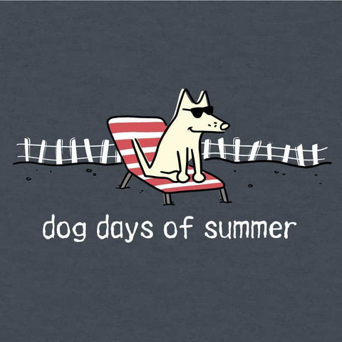 Dog Days of Summer - Long Sleeve T-Shirt Hoodie