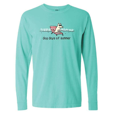 Dog Days of Summer - Classic Long-Sleeve T-Shirt Classic - Teddy the Dog T-Shirts and Gifts