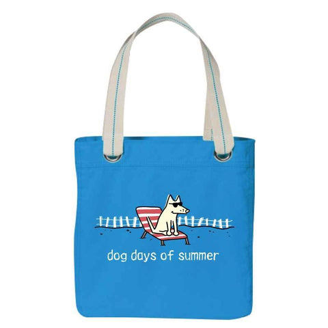 Dog Days of Summer - Canvas Tote