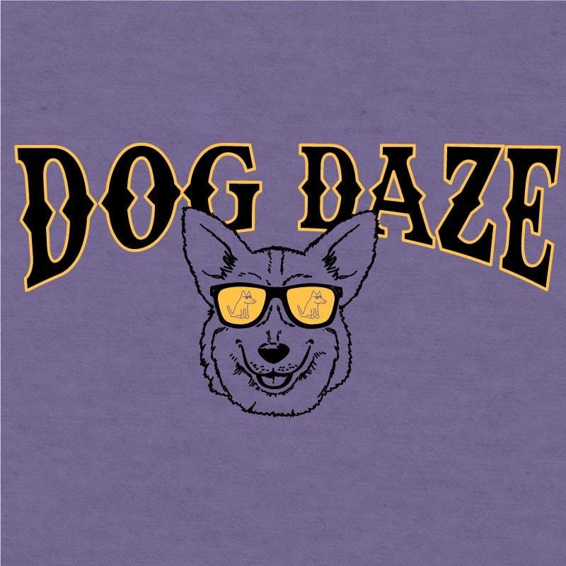 Dog Daze - Corgi - Lightweight Tee