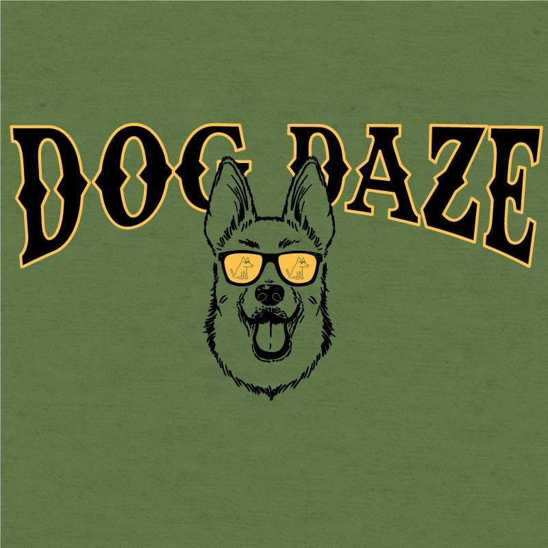 Dog Daze - German Shepherd  - Lightweight Tee