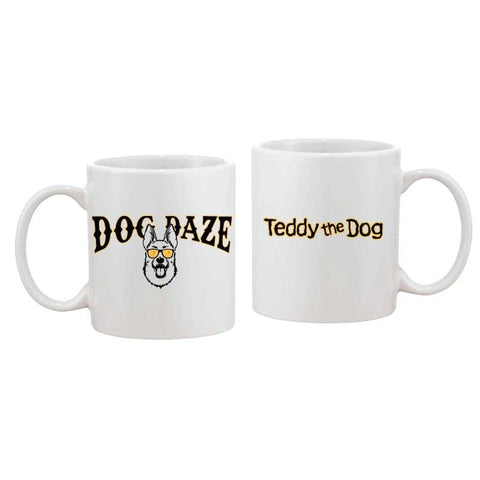 Dog Daze - German Shepherd - Coffee Mug