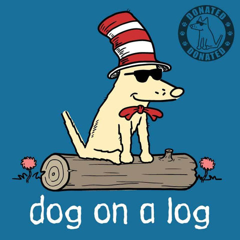 Dog On A Log - T-Shirt - Kids