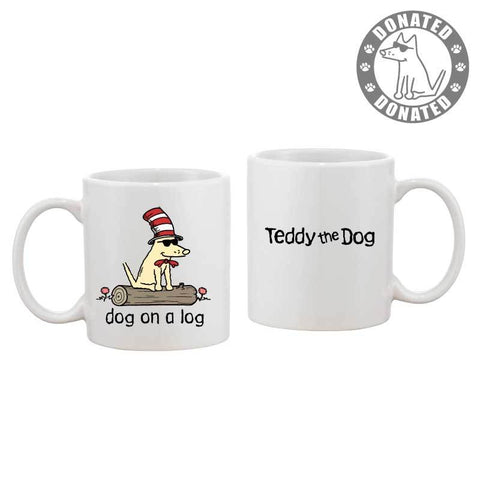 Dog On A Log - Coffee Mug