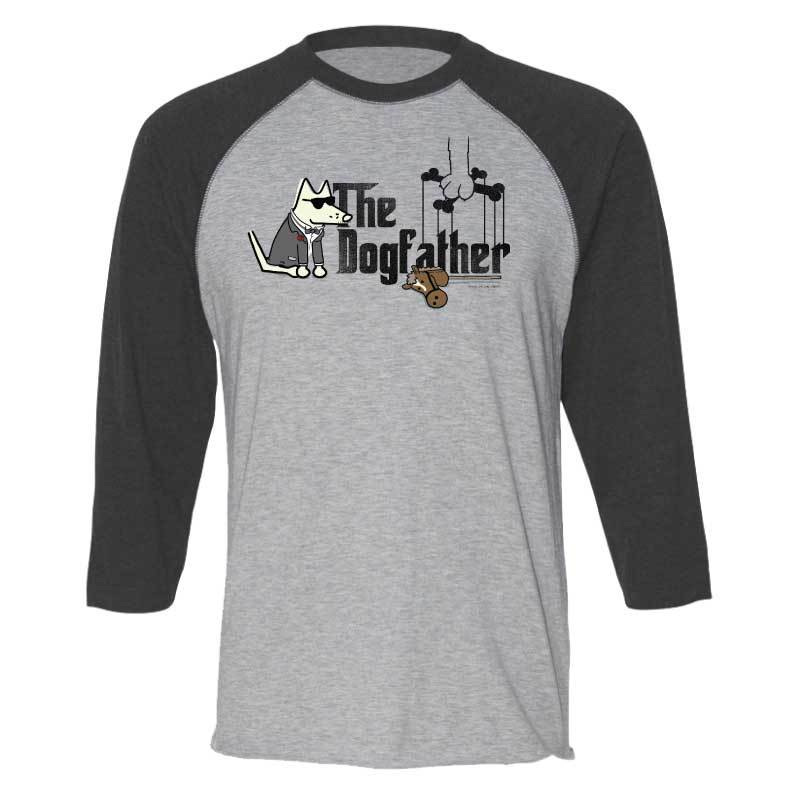 The Dogfather - Baseball T-Shirt
