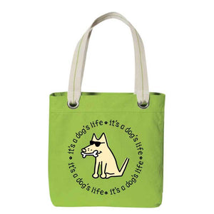 It's A Dog's Life - Canvas Tote