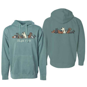 Dogs Rule - Pullover Hoodie - Teddy the Dog T-Shirts and Gifts