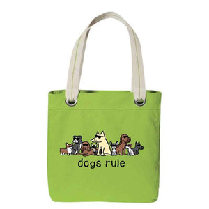Dogs Rule - Canvas Tote