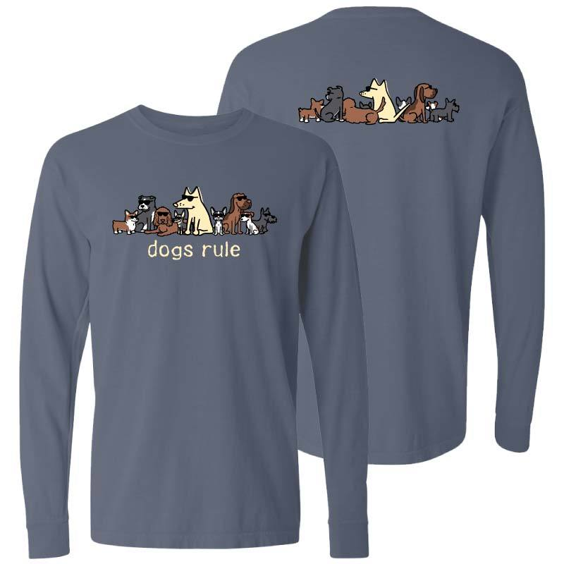 Dogs Rule - Classic Long-Sleeve T-Shirt