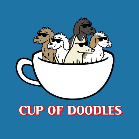 Cup Of Doodles - Classic Tee - Teddy the Dog T-Shirts and Gifts