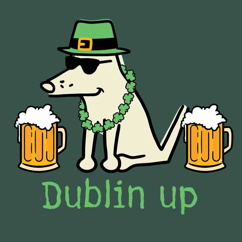 Dublin Up - Classic Tee - Teddy the Dog T-Shirts and Gifts
