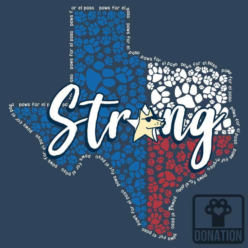 El Paso Strong - Ladies T-Shirt V-Neck