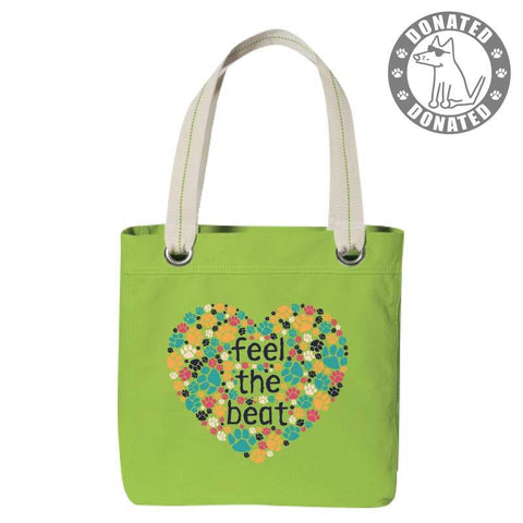 Feel The Beat - Canvas Tote