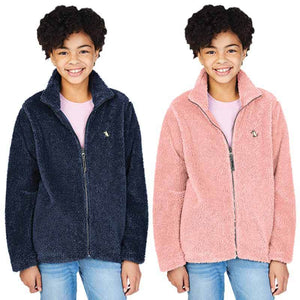 Kid's Fuzzy Fleece Zip Jacket