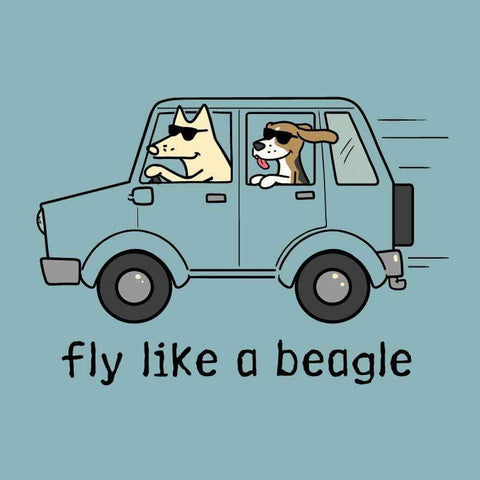 Fly Like a Beagle - Classic Tee