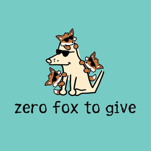 Zero Fox To Give - Ladies Curvy V-Neck Tee
